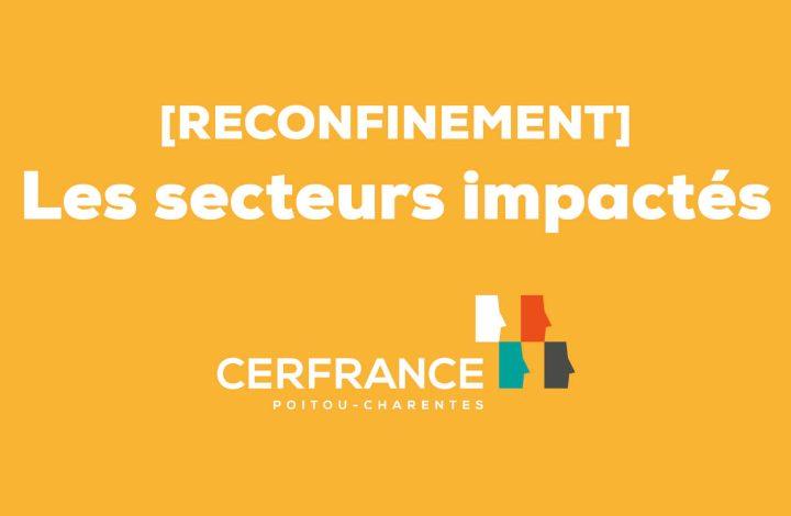 reconfinement secteurs impactés COVID 19